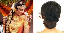 awesome Unique Hairstyle Ideas Appropriate for Kerala Wedding Sarees