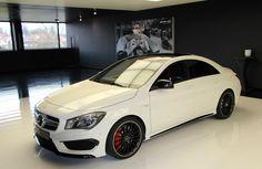 Mercedes-Benz CLA 45 #AMG [Fuel consumption combined: 7,1-6-9 (l/100 km) CO2 emission combined: 165-161 g/km] #mbhess #mbcars #mbcla