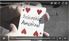 Neuroscience Meets Magic: an educational feature  A great video on brain function.
