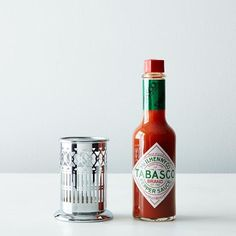 For the hot sauce lover, so they can keep it classy and spicy. #ho #sauce #tabasco #accessories #food52 #gift