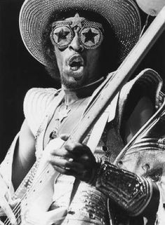Bootsy Collins because Id rather be with you ou yeah!