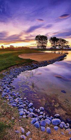 The Clearwater Golf Club near Christchurch International Airport, New Zealand • photo: Sebastien Krebs