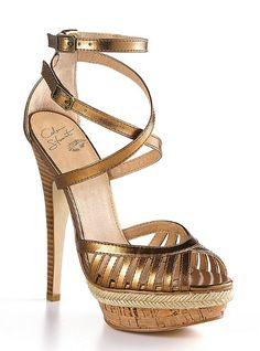 Peep-toe Strappy Sandal - Colin Stuart® - Victoria's Secret