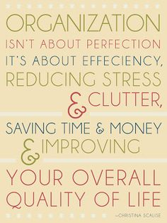 organization quote, organis, clean, offic, organizations, motivation to declutter, homes, true stories, thing