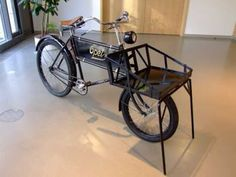 ancient bicycles: Antique Bicycle from Museum Freight
