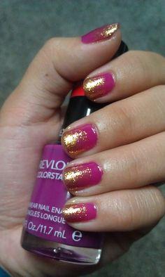 my Effie Trinket nails