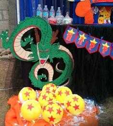 Cutout behind cake pops Goku Birthday, Dragon Birthday, 9th Birthday, Happy Birthday Parties, Birthday Celebration, Birthday Party Themes, Super Party, Ideas Para Fiestas, Baby Boy Shower