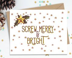Hey, I found this really awesome Etsy listing at https://www.etsy.com/listing/244352095/holiday-cards-funny-greeting-cards
