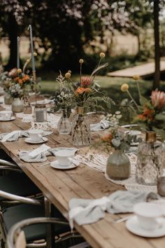 Casual Wedding Reception, Boho Wedding, Floral Wedding, Wedding Flowers, Dream Wedding, Wedding Day, Wedding Table Decorations, Wedding Centerpieces, Wedding Looks