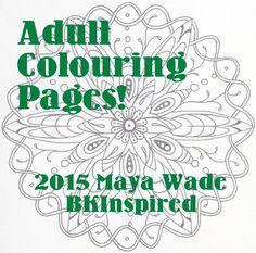 Mandala Zendala Coloring Page Download Pdf by bkinspired on Etsy