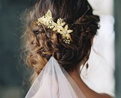 Butterfly Bridal Accessories You'll Love | Photo by: Laura Gordon | TheKnot.com