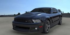 First Renderings Of 2013 Roush RS3 Mustang Leaked