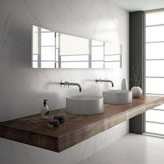 Carrelage très grand format #inalcoceramica #interiordesign
