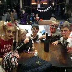 Ghoulish kids at the Silver Bay Halloween Party!