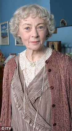 Miss Marple, created by Agatha Christie, and portrayed for TV by actress Geraldine McEwan