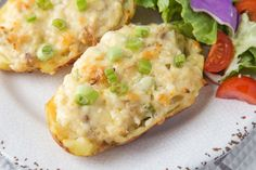 Tuna-Stuffed Potatoes
