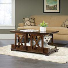 Sauder Coffee Table Dog Bed & Reviews | Wayfair