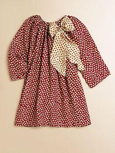 Isabel Garreton - Toddler's & Little Girl's Silk Polka Dot Dress - Saks.com