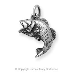 Big Catch Charm - Celebrate the big catch and capture the sport of fishing in this sterling silver charm depicting a classic large-mouth bass. Pandora Bracelets, Pandora Jewelry, Sterling Silver Bracelets, Silver Jewelry, Silver Earrings, Charms For Bracelets, Silver Pendants, Gothic Jewelry, Diy Earrings