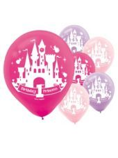 Latex Disney Princess 1st Birthday Balloons-Party City