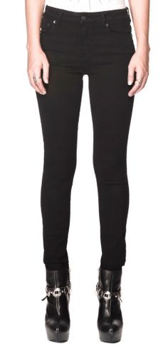 Best selling Kill City overdyed stretch twill in black.    The PERFECT pair of black denim.  In stock now!