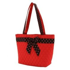 On Sale! Personalized Belvah Handbag Red & Black Custom Embroidered with Monogram or Name...Perfect for Game day!
