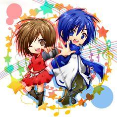 Tags: Anime, Vocaloid, KAITO, MEIKO, Pixiv Id 491580