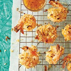 Coconut (Un-) Fried Shrimp - Nice light appetizer or can use as a main course with salad