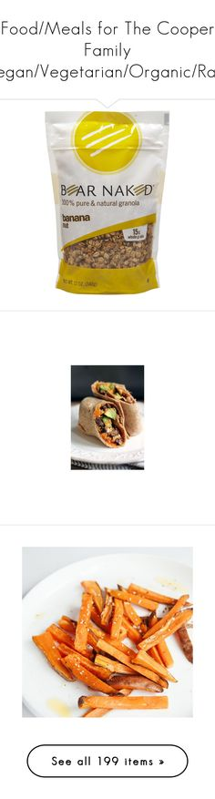 """""""Food/Meals for The Cooper Family (Vegan/Vegetarian/Organic/Raw)"""" by the-hillie-family ❤ liked on Polyvore featuring food, filler, home, kitchen & dining, serveware, glass serveware, glass syrup dispenser, dinnerware and chocolate dinnerware"""