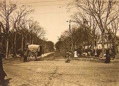 Barcelona, Passeig de gràcia any 1910.