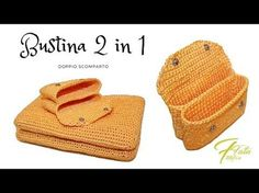 TUTORIAL: bustina 2 in 1/bustina a due scomparti***lafatatuttofare*** - YouTube