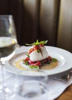 Mozzarella & Tomato. Oh you fancy, huh?