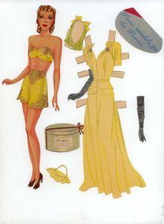 Mimi Powers | Gabi's Paper Dolls