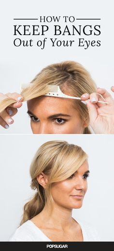 Summer brings out the worst in everyone's hair! But if these hair tricks can hold up at swimsuit shoots on the beach, then they'll do the job for you, too! You'll be amazed at the time you'll save on styling with the two-minute updo and five-minute blowou Pretty Hairstyles, Easy Hairstyles, Cowlick Hairstyles, Side Swept Hairstyles, Teenage Hairstyles, Hairstyles Videos, American Hairstyles, Holiday Hairstyles, Hairstyles 2016