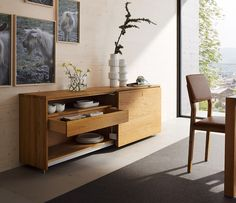 Luxury Oak Sideboard Cubus