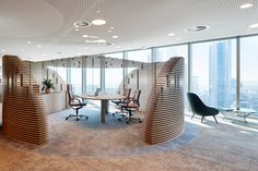 Australian energy company Woodside has chosen ergonomic seating from Wilkhahn for its new headquarters in Perth. Glass Building, Conference Chairs, Energy Companies, Rest And Relaxation, Office Environment, Design Language, Perth, Chair Design, Interior Design