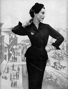 Mary Jane Russell Suit by Irene Lentz Gibbon 1951