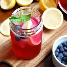 How to Make the Most Refreshing Blueberry Basil Lemonade (with Raw Honey). This summer drink is refreshing, nourishing and will help detoxify your body and mind. Drink this every morning to jumpstart your metabolism and revitalize your system.