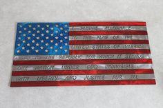 The Pledge of Allegiance Flag