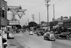 Lexington Road, Louisville, Kentucky, 1935. :: Herald-Post Collection