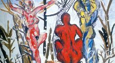 New Wild or Neue Wilde - the German and untamed art movement