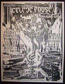 Celtic Frost, Voivod, Running Wild Celtic Frost, Tour Posters, Blade Runner, Black Metal, Rock Bands, My Music, Artwork, Running, Image