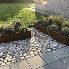 The Best 20 Garden Decoration Ideas Of 2019 Garden Show, Dream Garden, Landscape Design, Garden Design, Contemporary Landscape, Garden Stepping Stones, Garden Cottage, Small Backyard Landscaping, Garden Projects