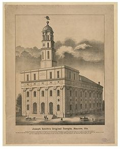 Rare lithograph - Nauvoo Temple lobby Nauvoo State Bank over century discovered original stone carving W. Murphy dated 1886 mormon art lds art Temple Art Joseph Smith, Mormon Temples, Lds Temples, Nauvoo Temple, Temple Lds, Lds Art, Will Smith, Poster Size Prints, Online Printing