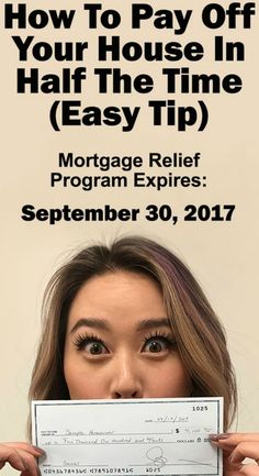 HOW TO PAY OFF YOUR HOUSE IN HALF THE TIME (Easy Tip)