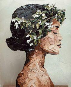 What is Your Painting Style? How do you find your own painting style? What is your painting style? Art Du Croquis, L'art Du Portrait, Female Portrait, Palette Knife Painting, Palette Art, Ouvrages D'art, Art Et Illustration, Illustrations, Art Abstrait