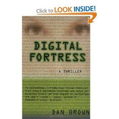 Dan Brown - Digital Fortress   This Dan Brown's novel might not be as well-known as The Da Vinci Code or Angels & Demons but I loved reading it, especially because of the character of David Becker = handsome, exceptionally smart, strong...; definitely the kind of male character that I love. If only Dan Brown agreed to a movie version with Jensen Ackles as David Becker! ;-)