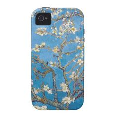 Branches with Almond Blossom Van Gogh painting Case-Mate iPhone 4 Cover