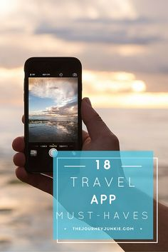 My must-have travel app list - Pin now, read later!