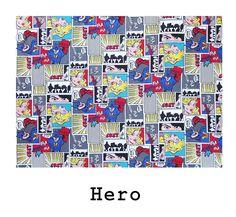 tela de algodón Hero disponible para combinar con los productos Arethaju